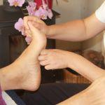 Refelexology treatment